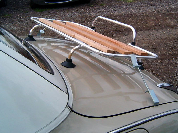 Boot Luggage Rack Aluminium Amp Wood With Fitting Kit Nissan